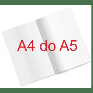 Folder A4 składany do A5
