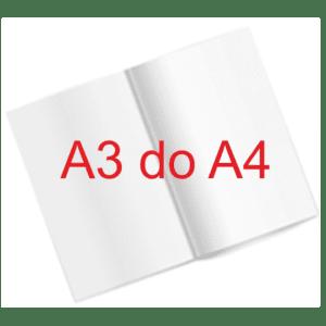 Folder A3 składany do A4