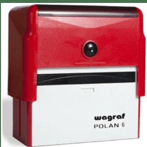 PIECZĄTKA WAGRAF 6 razem z gumką