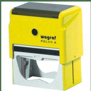 PIECZĄTKA WAGRAF 8 razem z gumką