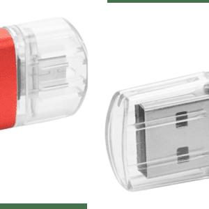 PENDRIVE USB I MICRO USB Z GRAWEREM (ON THE GO) 8Gb
