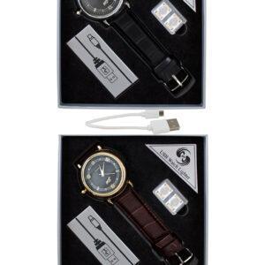 ZEGAREK  ZAPALNICZKA ŻAROWA USB Z GRAWEREM